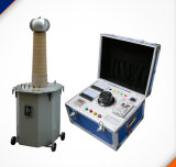Hdj-40 지적인 기름에 의하여 가라앉히는 시험 변압기 AC DC Hipot 검사자