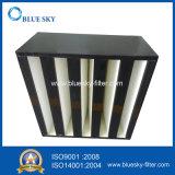 엄밀한 상자 HVAC 시스템을%s V 은행 HEPA 공기 정화 장치