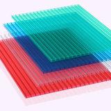 Feuille en plastique transparente UV de polycarbonate de feuille de feuilles en plastique claires d'UV-Protection