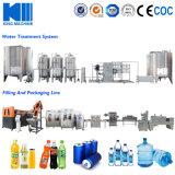 Água mineral engarrafada / Linha de tomada de água pura