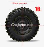 """15HP 34 """" LED 맨 위 가벼운 최신 판매 사슬 구동 눈 송풍기"""