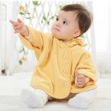 De gebreide Polaire Stof van de Vacht voor Baby bedekt de Turkooise Doek van de Vacht van de Pluche van de Polyester van het Lapwerk van het Koraal voor het Naaien Telas
