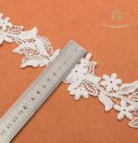 Weißes Rayon-europäische Hochzeits-Kleid-Spitze-Ordnung