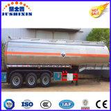 Produits chimiques semi-remorque-citerne de carburant liquide
