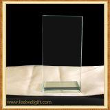 Trofeos y concesiones cristalinos transparentes de encargo baratos al por mayor