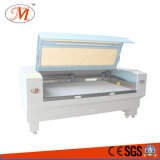 Máquina de estaca tecida da etiqueta com posicionamento da câmera (JM-1810T-CCD)