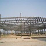 Construção de aço pré-fabricada do metal do frontão