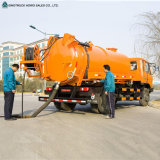 Sinotruckの吸引タイプ下水道の清掃動物のトラック