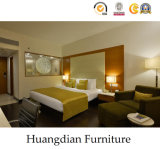 Projetos de madeira modernos das mobílias do quarto do hotel (HD038)