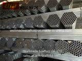 L'échafaudage de tubes pour Oilfield Construction Fin ordinaire des tuyaux en acier galvanisé