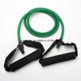 La résistance réunit des tubes de yoga d'exercice de séance d'entraînement de muscle de forme physique de tube. (1.2 mètre) 5lbs à 30lbs