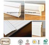 工場卸し売り白い防水製材壁パネル