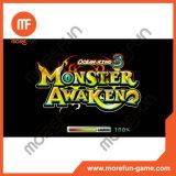 Il video re 3 mostro dell'oceano del gioco dei pesci della fucilazione sveglia la macchina del gioco del re Arcade del leone