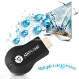 Memory Stick Rk3036 Rkcast ТВ с двухъядерными процессорами 1080P H. 265 Anycast Miracast ключ WiFi на дисплее ресивера