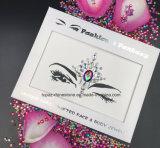 A vara por atacado na face Jewels as etiquetas provisórias do tatuagem do olho dos tatuagens da etiqueta do corpo (S084)