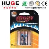 AAA 1,5V pilha alcalina LR03 bateria primária