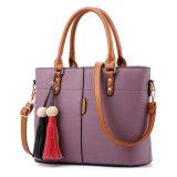 Moda clássico personalizado Lady Crossbody Bag Bolsa de ressalto duplo