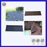 Type enduit en bois de tuile de toit en métal de pierre de qualité d'Exellent
