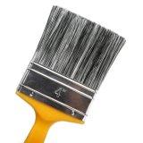 Brocha plana con mango de plástico y se mezcla de filamentos de pintor profesional
