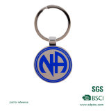 Preiswerteres Drucken-Firmenzeichen-Metallgepäck-Schlüsselmarke (xd-031726)