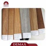 De hoge Glanzende Eenvoudige Bevloering van de Plank van pvc van de Oppervlakte van de Kleur Vinyl