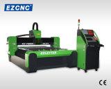 Tagliatrice doppia dell'acciaio inossidabile di CNC del laser della fibra della trasmissione della vite della sfera di Ezletter (GL1313)