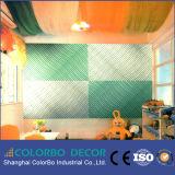 Painéis de parede 3D de madeira baratos decorativos da onda de Inreda