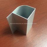 Quadrato, profilo rotondo e differente dell'espulsione della lega di alluminio per il portello e tubo 151 della finestra