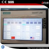 PLC steuern Belüftung-Profil-Zwilling-Schraube Extrustion Maschine/Zeile