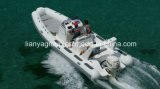 Liya 660 ребра на лодке из стекловолокна Халл катера для продажи