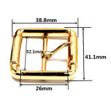 La boucle de courroie centrale en alliage de zinc de Pin de boucle de barre en métal chaud de vente pour le vêtement chausse les sacs à main (YK1364)