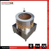 Strumentazione automatica commerciale Chz-N80 della spennatrice di pollame di grande formato