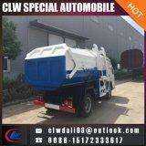 소형 판매를 위한 측에 의하여 거치되는 압축 쓰레기 트럭