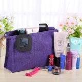 Articolo da toeletta impermeabile di corsa del panno del sacchetto cosmetico portatile opaco delle donne per il sacchetto Bolsas dell'organizzatore della signora Wash Makeup Cosmetic Storage