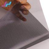 Film de fenêtre Semi-Removable perforée d'une façon transparente en PVC Vision