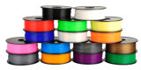 Filamento flexible del PLA del ABS de la alta calidad 3D