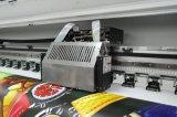 Impresora de inyección de tinta solvente de Eco con la cabeza de impresión Dx8