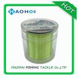 линия зеленого высокопрочного моноволокна Fluo Hi-Визави 1/8lb удя