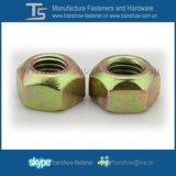 Noix Hex de Régner-Couple de l'acier du carbone Ifi100-107
