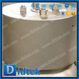 Didtek atornillado de alta presión de acero inoxidable del capot junta a presión la válvula de retención de giro