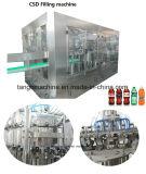 Agua mineral cerveza, bebidas carbonatadas empaquetadora de llenado de botellas de vidrio para la tapa de la corona AL PAC