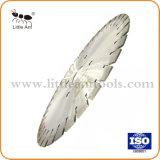 350mm húmedo segmentada sinterizado de hoja de sierra de diamante para granito