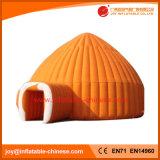 Partie gonflable Igloo dôme orange tente d'exposition (tente1-113)