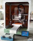 탁상용 플라스틱 단추 기계를 인쇄하는 평상형 트레일러 실크 스크린