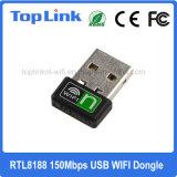 Haut de page-8188 150Mbit/s 802.11n 1T1R Dongle USB Mini-adaptateur réseau sans fil WiFi pour Set Top Box