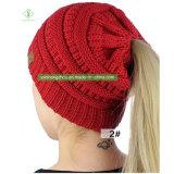 Горячая продажа зимний теплый Cc Beanie Red Hat Fashion Lady трикотажные Red Hat