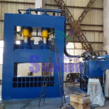 Tesoura hidráulica automática do pórtico da placa de metal da fábrica