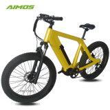 Fetter Gummireifen Aimos bestes verkaufen26inch 500W elektrisches Fahrrad
