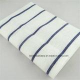 中国の工場OEMの農産物の青い縞のカスタム綿のふきん