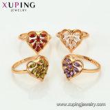 2016 새로운 디자인 Xuping 다채로운 지르콘 심혼 반지